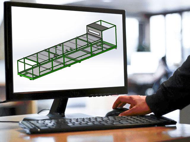Progettazione 3d macchine e impianti acciaio for Programmi progettazione 3d